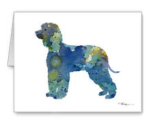 Irish Water Spaniel Note Cards With Envelopes