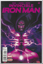 INVINCIBLE IRON MAN #5 2015 NM/MINT 9.8 : SEND THIS BOOK TO CGC!