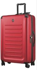 VICTORINOX SPECTRA LARGE TRAVEL LUGGAGE 30inch 4wheels, RED