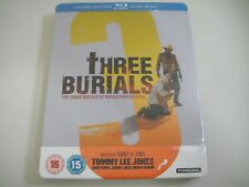 Three Burials of Melquiades Estrada (2005) - Limited Steelbook Blu-Ray Region B