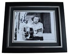 Van Morrison SIGNED 10x8 FRAMED Photo Autograph Display Music Memorabilia COA
