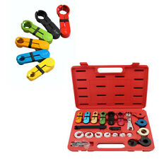 22 Pcs Air Conditioning A/C & Fuel Line Disconnect Tool w/ Case Set For Ford GM