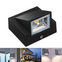 5 W Lampe ExtéRieure LED Applique Murale LumièRe ÉTanche Jardin Porche Lumi W2Y1