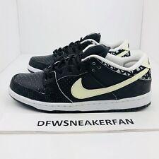 NIKE MEN'S SHOES SB DUNK LOW PREMIUM 'BHM' QS Sneakers 745956-010 Men's Size 10