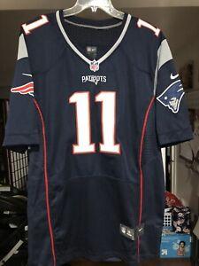 New England Patriots Julian Edelman Nike Jersey - New; Size 48; #11