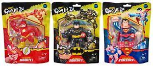 Heroes of Goo Jit Zu - DC Superheroes Batman, Superman, The Flash - Toy NEW 2021