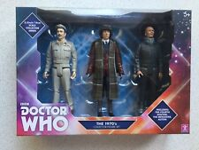 DR WHO 1970's FIGURES SET OF 3 NEW SEALED TOM BAKER 4th DOCTOR AUTON BRIGADIER
