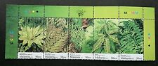Fern Of Malaysia 2010 Flower Plant Flora (stamp with color code) MNH
