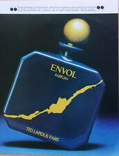 page de publicité/ PARFUM/   ENVOL de TED LAPIDUS   /1981/ ref.   67688