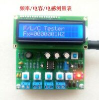 (Need solder)51 MCU STC89C52 capacitor inductance frequency meter DIY Electronic