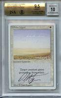 MTG Revised White WardBGS 9.5 Gem Mint Magic Card Signed Amricons 5633