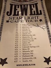 Jewel Star Light Cafe Autographed Signed Poster