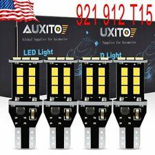 4X Auxito Error Free 921 White Led Blub Backup Reverse Light 912 T15 W16W 850Lm(Fits: Neon)