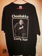 Vintage Men's rapper Choobakka Big Daddy Records shirt Size Xxl