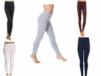 New Style Womens Cotton Leggings Full Length Plus Sizes 8 10 12 14 16 18 20 22