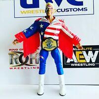 WCW Faux Leather Heavyweight Championship for Mattel/Jakks Figures WWF WWE