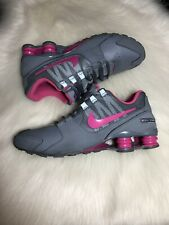 cc9a2a13b31a Nike Shox Avenue Youth Size 6.5 Women s Size 8 Grey Pink Gray Sneakers 6.5Y
