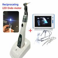 Dental LED Endo Motor Motore Endodontico 16:1 Contrangolo + Rilevatore apicale R