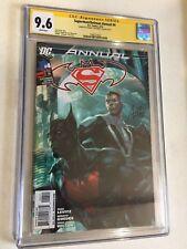 SUPERMAN/BATMAN ANNUAL #4 CGC SS 9.6 1ST APP OF BATMAN BEYOND SIGNED BY ARTGERM
