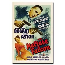 The Maltese Falcon 24x36inch 1941 Old Movie Silk Poster Large Size Art Print
