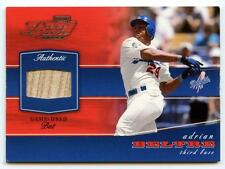 2002 Playoff Adrian Beltre Piece of the Game Used Bat Relic Card POG-2