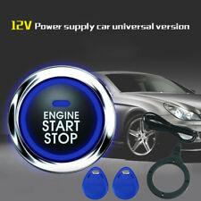 Alarma de inicio motor Empuje Iniciar Botón de Parada Control Remoto Sistema de entrada sin llave