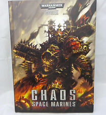 Warhammer 40k Chaos Space Marines  H/C army codex army book