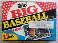 (1) 1989 Topps BIG BASEBALL SERIES 1 - 36 Count Pack SEALED WAX BOX RARE