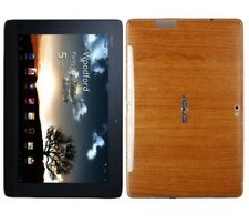 Skinomi Light Wood Skin+Screen Protector for Asus Transformer Prime Keyboard Fit