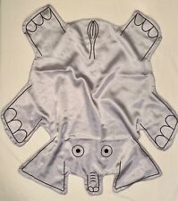 Sleep Silkies Elephant Cuddle Capes Kideapolis Security Blanket Lovey