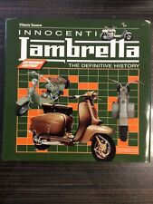 Innocenti Lambretta: The Definitive History, Very Good Condition Book, Vittorio