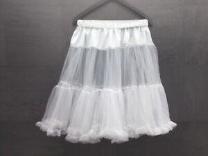 MarJo Leder&Trachten ,Germany  Dirndlunterrock,Petticoat,weiß,Gr M,neuwertig