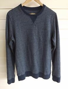 Mossimo Size XS - Men's Blue-White Long Sleeve Jumper - Sweater Pullover