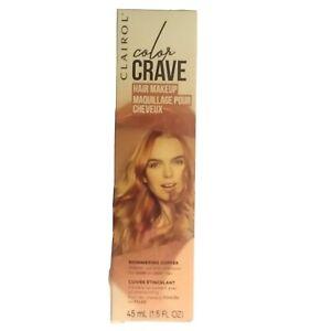 Clairol Color Crave Hair Makeup Shimmering Copper 1.5 oz.