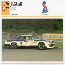 1976-1977 JAGUAR XJ12C Racing Classic Car Photo/Info Maxi Card