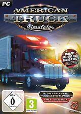 PC DVD GIOCO American Truck Simulatore confezione starter incl. Nevada & Arizona DLC NUOVO