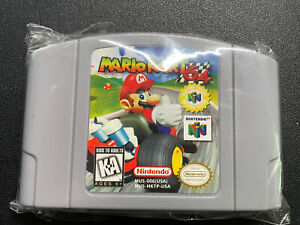Mario Kart 64 (Nintendo 64, 1996) Cartridge Only No box or book Authentic Tested