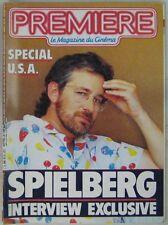 Revue Première n° 114 Septembre 1986 Interview Spielberg
