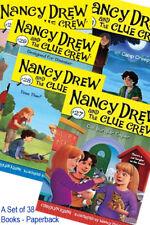 Nancy Drew and the Clue Crew Set of 38 Brand New books - Paperbacks
