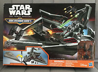 Star Wars The Force Awakens Micro Machines First Order Star Destroyer Playset!