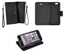 Huawei G8 Book Case Schwarz Handy Tasche Klapptasche Flip Cover Schutz Hülle