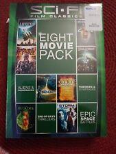 Sci-fi Film Classics Dvd 8 Movie Pack