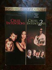 Cruel Intentions & Cruel Intentions 2 DVD Set Widescreen and Full Screen