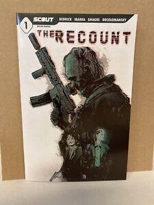The Recount #1 Cover A Nunez Hedrick 1st Print Scout Comic