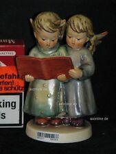 """+. Goebel Hummel 261 """"Stille Nacht"""", Angel duet, zwei Engel singen aus Buch"""