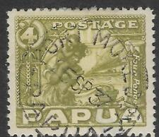 PAPUA 1932 4d NATIVE MOTHER & CHILD 1v USED