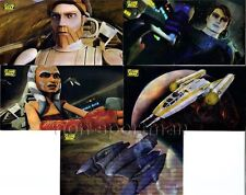 STAR WARS CLONE WARS WIDEVISION ANIMATION MOTION SET(5)