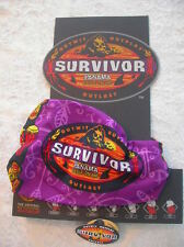 SURVIVOR BUFFS - Panama Exile Island Purple Casaya Tribe Buff -  New on Display