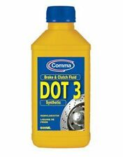 COMMA DOT 3 BRAKE FLUID AND CLUTCH FLUID  BF500M 500ML