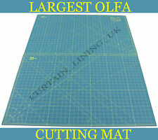 "OLFA Cutting Mat 23"" x70"" Green Professional RM-CLIPS/2"